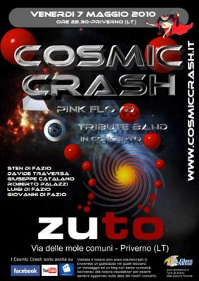 COSMIC CRASH LIVE ALLO ZUTO'
