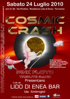 COSMIC CRASH LIVE BAR LIDO D'ENEA