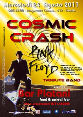 COSMIC CRASH LIVE BAR PLATANI