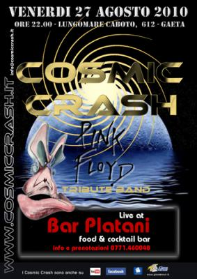 COSMIC CRASH LIVE AL BAR PLATANI