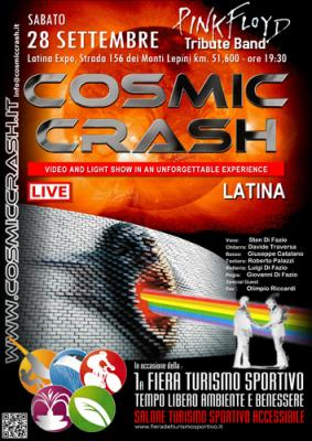 COSMIC CRASH LIVE LATINA EXPO FIERA DEL TURISMO SPORTIVO