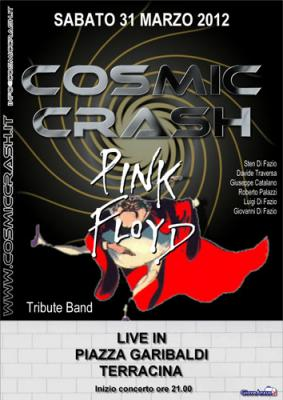 COSMIC CRASH LIVE IN TERRACINA PIAZZA GARIBALDI